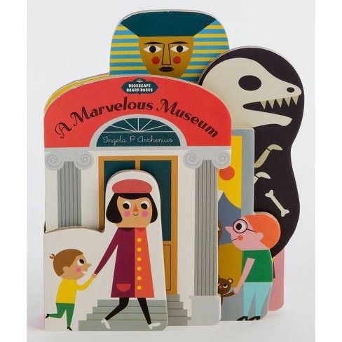 A Marvelous Museum - (Board_book) - image 1 of 1