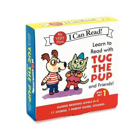 Learn to Read with Tug the Pup and Friends! Box Set 1 - (My Very First I Can Read) by  Dr Julie M Wood - image 1 of 1