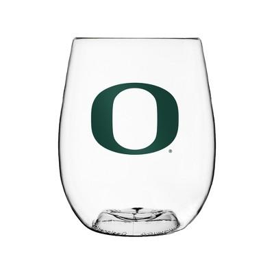 Oregon Ducks Boelter Plastic Stemless Wine Cup - 16oz