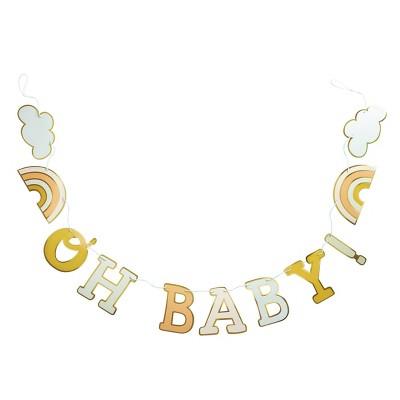 'Oh Baby' Banner Pastel - Spritz™