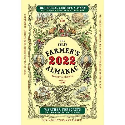 The Old Farmer's Almanac 2022 - (Hardcover)