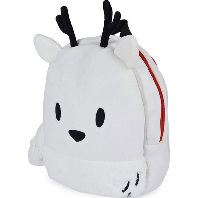 GUND 13 Inch Hilda Twig Super Soft Plush Kids Stuffed Animal Character School Backpack Book Bag for Children Ages 3 Years and Up, White