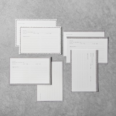 Recipe Cards 24ct - Hearth & Hand™ with Magnolia
