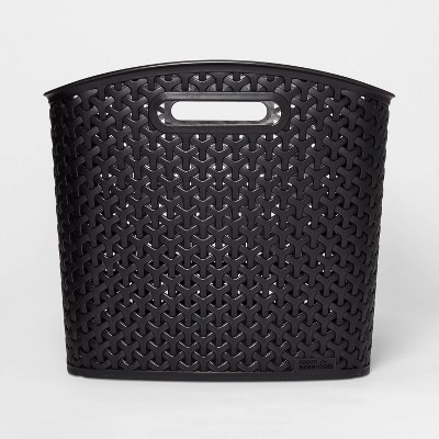 Y-Weave Storage Curved Bin Black XL - Room Essentials™