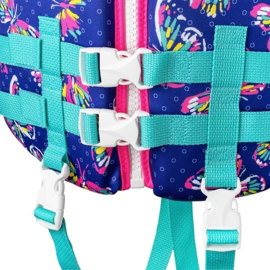 Speedo Girls Child PFD Life Jacket Vests - Violet image number null