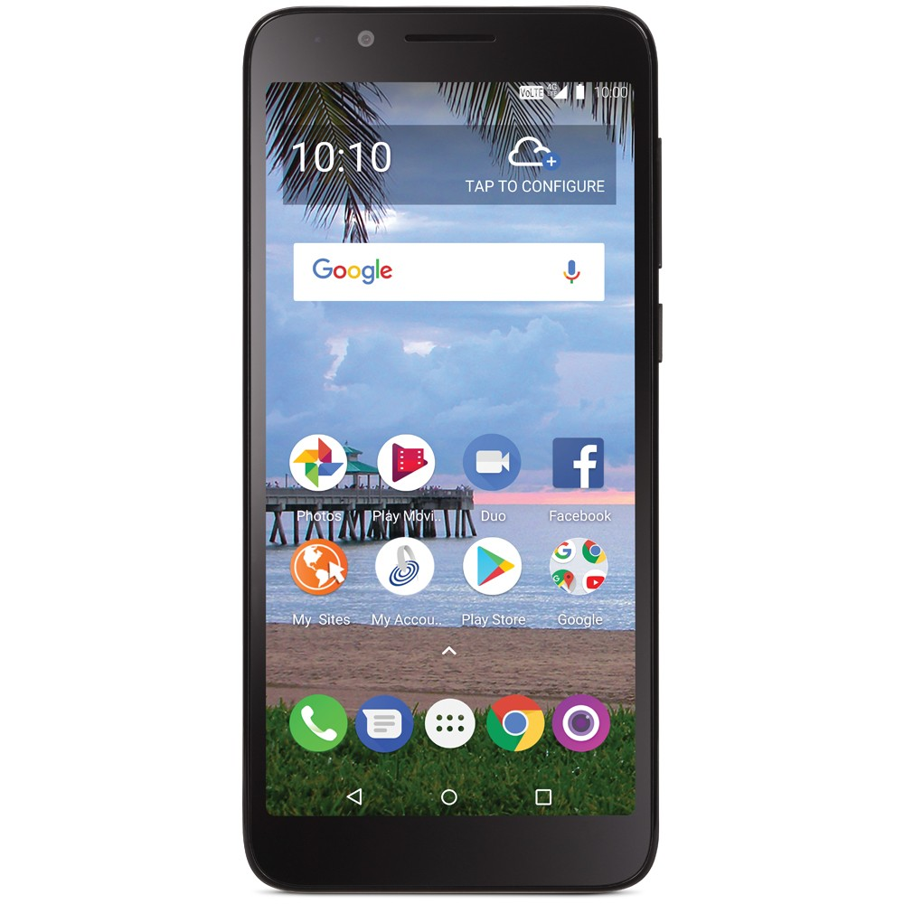 Tracfone Prepaid TCL LX (16GB) - Black was $29.99 now $19.99 (33.0% off)