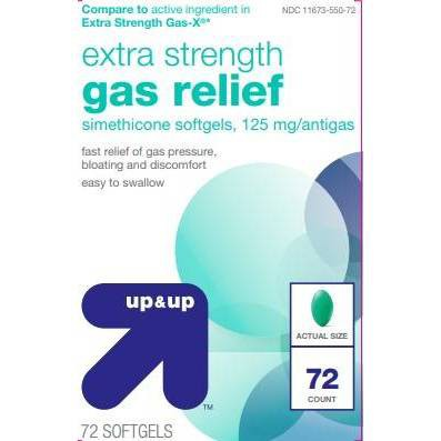 Gas-X Extra Strength Softgel - 72ct - up & up™