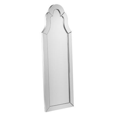 Dini Leaning Mirror - Matte Silver - Aiden Lane