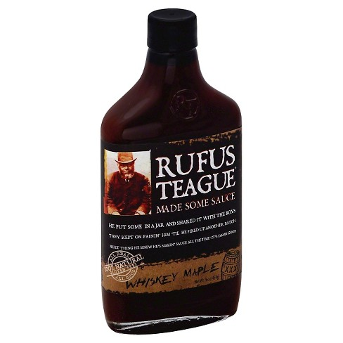 Rufus Teague Whiskey Maple BBQ - 16oz - image 1 of 1