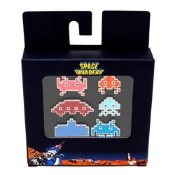 Space Invaders 6pk Enamel Pin Set