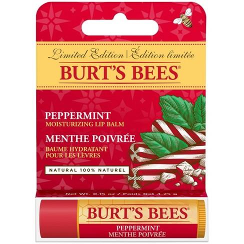 Burt's Bees Moisturizing Lip Balm - Peppermint - 1ct - image 1 of 3