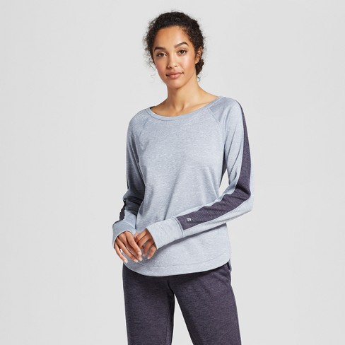 Women's Colorblock Tech Fleece Crew Pullover - C9 Champion® - image 1 of 2