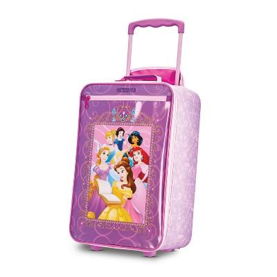 American Tourister 18'' Kids' Disney Princess Upright Softside Suitcase
