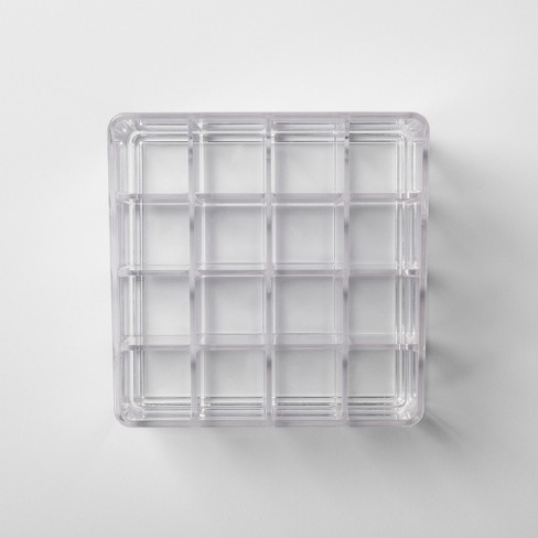 b64487e1715b Bathroom Plastic 16 Slot Lipstick Organizer Clear - Made By Design™