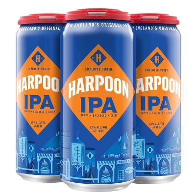 Harpoon IPA Beer - 4pk/16 fl oz Cans