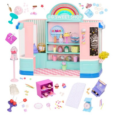 Glitter Girls Sweet Shop with Electronics and Play Candy