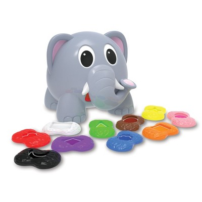 The Learning Journey Learn With Me Shapes Elephant Color & Shapes