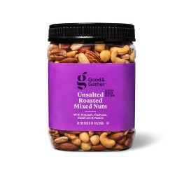 Unsalted Roasted Mixed Nuts - 30oz - Good & Gather™