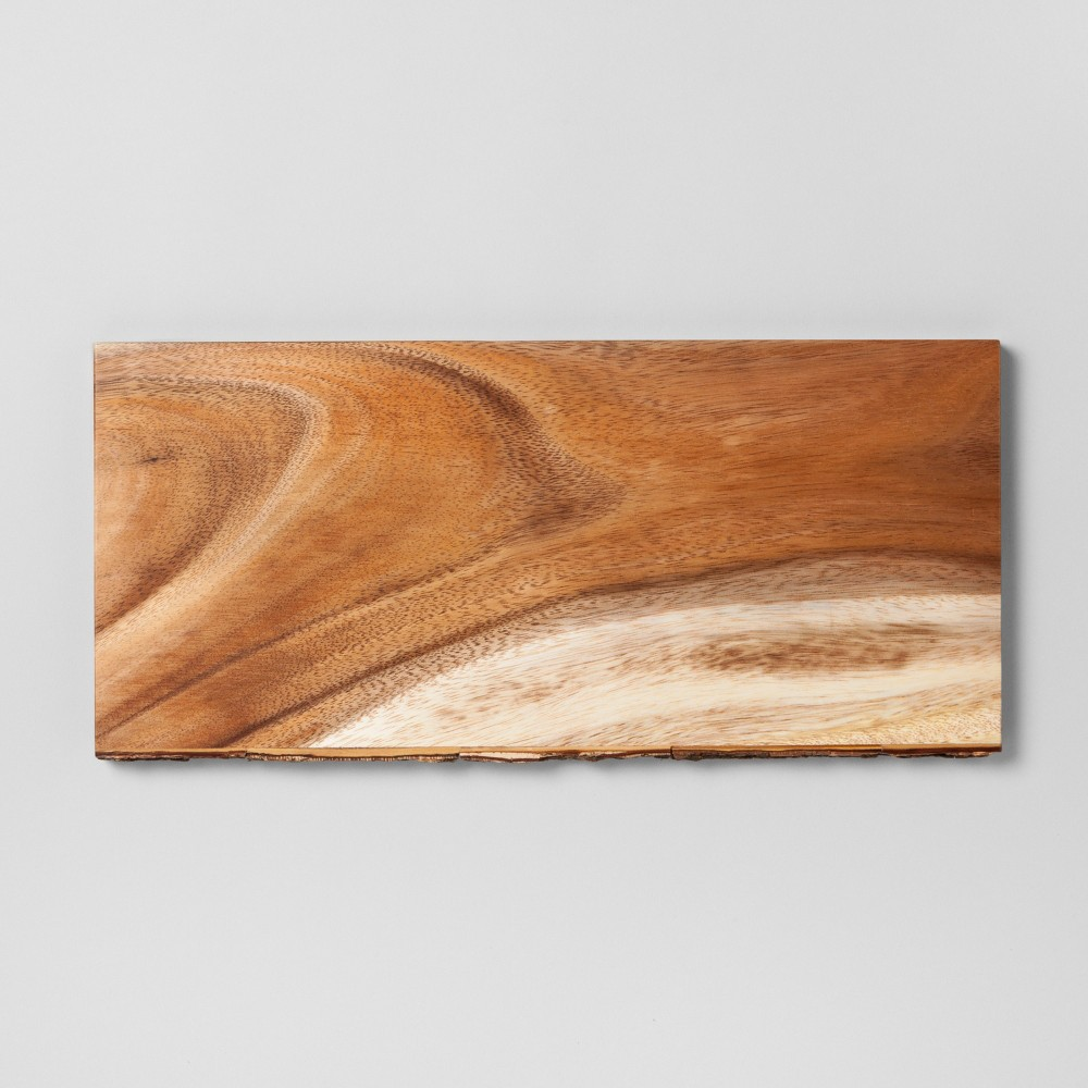Rectangle Serving Platter Acacia - Threshold, Tan