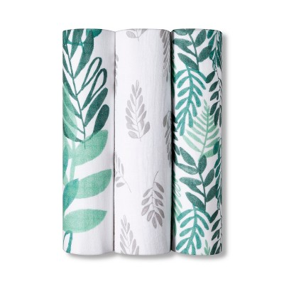 Swaddle Muslin Blankets - Cloud Island™ Green