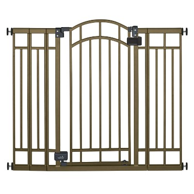 Summer Infant Multi-Use Decorative Extra-Tall Walk-Thru Gate - Bronze Metal