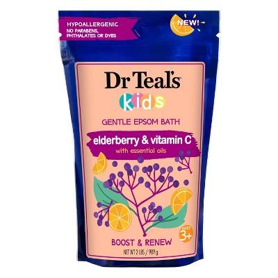 Dr Teal's Kids Elderberry & Vitamin C Epsom Salt - 32oz