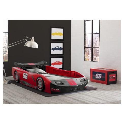 Delta Children Turbo Race Car Twin Bed Target