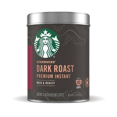 Starbucks Dark Roast Premium Instant Coffee - 3.17oz