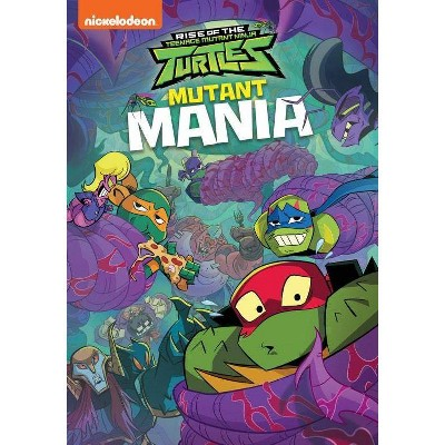 Rise of the Teenage Mutant Ninja Turtles: Mutant Mania (DVD)