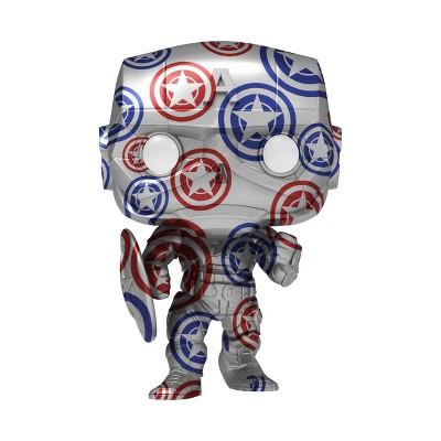Funko POP! Artist Series: Marvel Patriotic Age - Captain America (Avengers, Stark Tech Suit) (Target Exclusive)