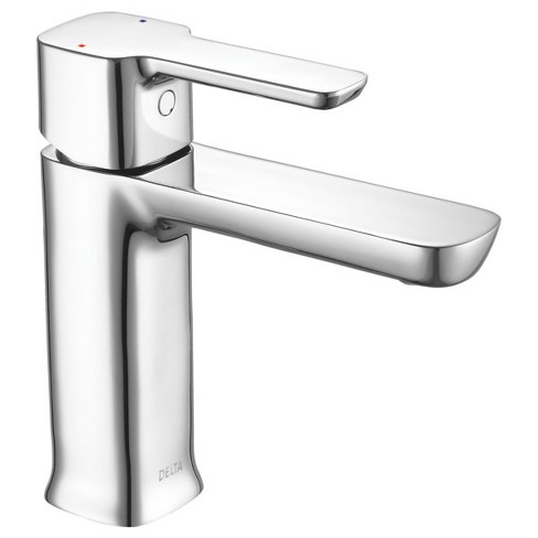 Delta Faucet 581lf Pp Modern 1 2 Gpm Single Hole Bathroom Sink