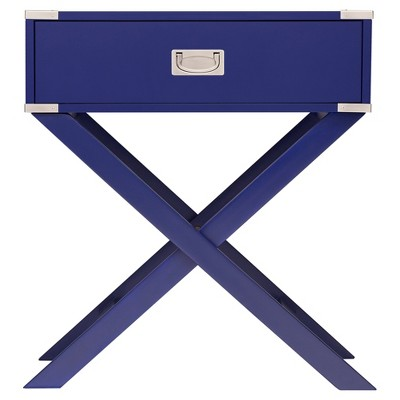Charmant Borden Campaign Accent Table   Twilight   Inspire Q : Target