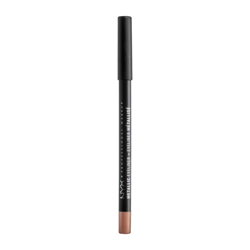 NYX Professional Makeup Metallic Eyeliner Rose Gold - 0.05oz, Pink Gold