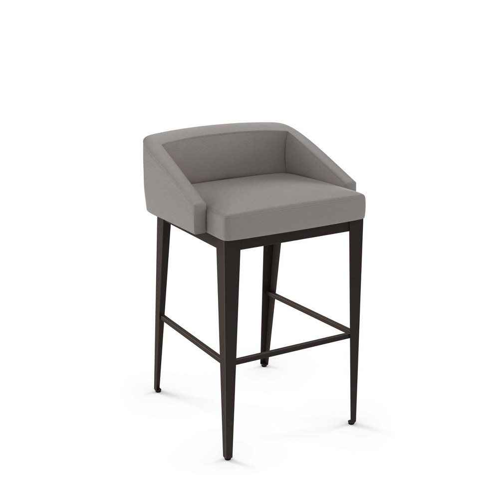 Outstanding 27 Bailey Counter Stool Graydark Brown Amisco Grayblack Machost Co Dining Chair Design Ideas Machostcouk