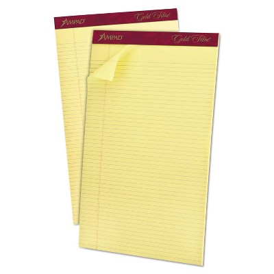 Ampad Legal Pads - Canary
