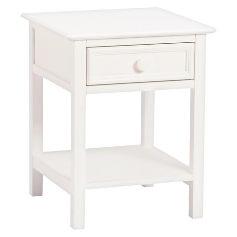 Wakefield 1-Drawer Nightstand White - Bolton Furniture - image 1 of 1