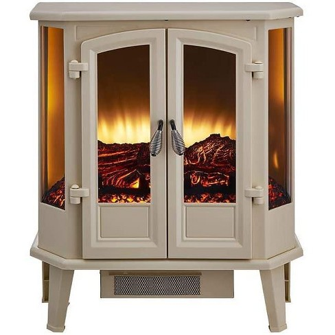 Hearthpro Cream Infrared Electric Fireplace Stove Sp5623 Target