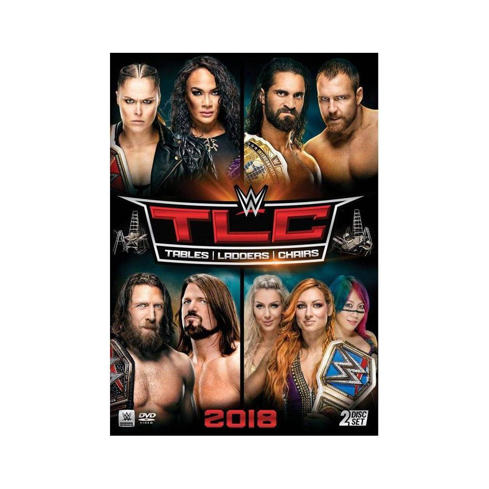 WWE TLC: Tables Ladders & Chairs 2018 (DVD) Price