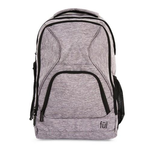 "FUL 18.5"" RFID Fuego Backpack - Heather Grey - image 1 of 7"