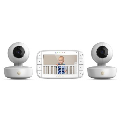 Motorola 5  Portable Video Baby Monitor with Two Cameras - MBP36XL-2