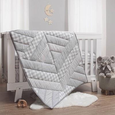 The Peanutshell Little Rhino Crib Bedding Set 3pc