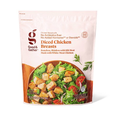 Diced & Grilled Chicken Breast - Frozen - 20oz - Good & Gather™