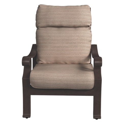 Chestnut Ridge Lounge Chair with Cushion - Brown  - Outdoor by Ashley - image 1 of 4