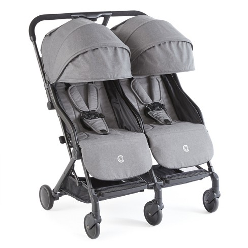 Contours Bitsy Double Stroller - Gray - image 1 of 3