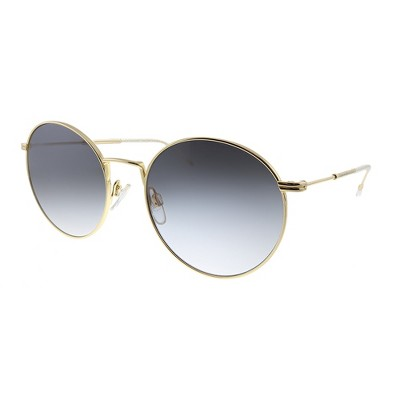 Tommy Hilfiger TH 1586/S 000 Womens Oval Sunglasses Rose Gold 52mm