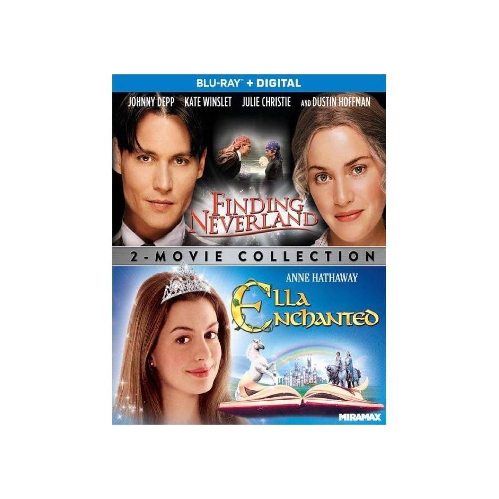 Ella Enchanted Finding Neverland Blu Ray 2021