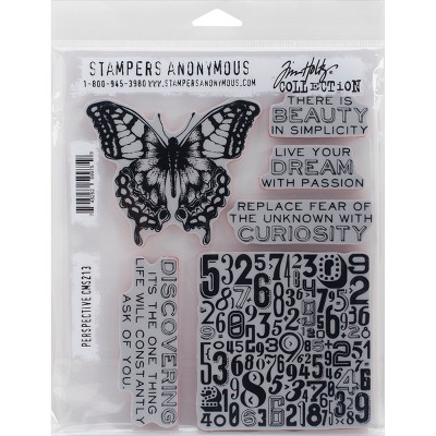 """Tim Holtz Cling Stamps 7""""X8.5"""""""