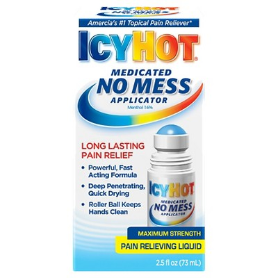 Pain Relievers: Icy Hot Medicated No Mess Applicator