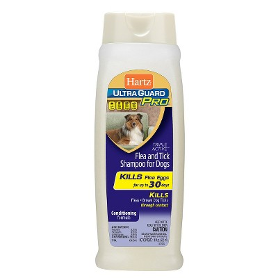Hartz Ultra Guard Flea & Tick Shampoo Pet Insect Prevention - 18oz