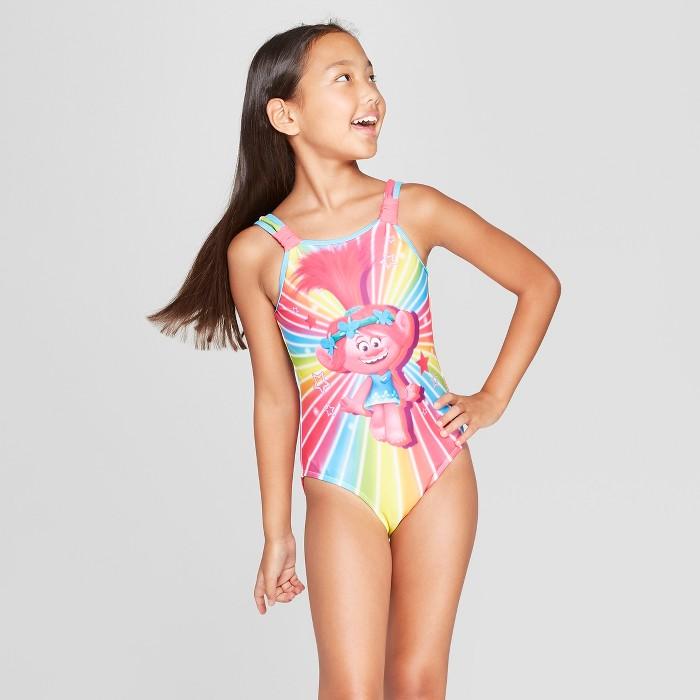 Girls' Poppy One Piece Swimsuit - image 1 of 3
